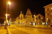 Fovam Square, Budapest, Hungary