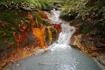River Oyunuma Natural Footbath, Noboribetsu, Japan