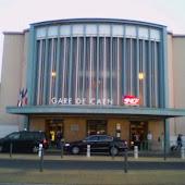 Железнодорожная станция  Caen