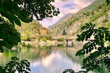 San Domenico Lake, Villalago, Italy
