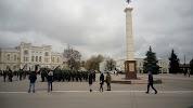 Памятная колонна Императрице Екатерине || на фото Богучара