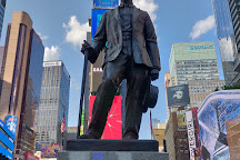 George M. Cohan Statue, New York City, United States