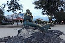 Golden Mermaid Statue, Songkhla, Thailand