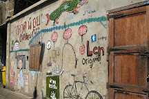 Talad Noi Wall Art, Bangkok, Thailand