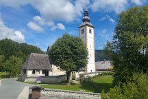 Church of St John the Baptist, Bohinjsko Jezero, Slovenia