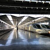 Железнодорожная станция  Malaga Estacion