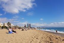 Playa de La Barceloneta, Barcelona, Spain