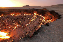 Darvaza Gas Crater, Darvaza, Turkmenistan