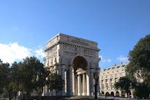 Piazza della Vittoria, Genoa, Italy