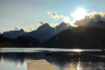 Lake of Staz (Lej da Staz), St. Moritz, Switzerland