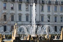 Fontana Delle Quattro Stagioni, Milan, Italy
