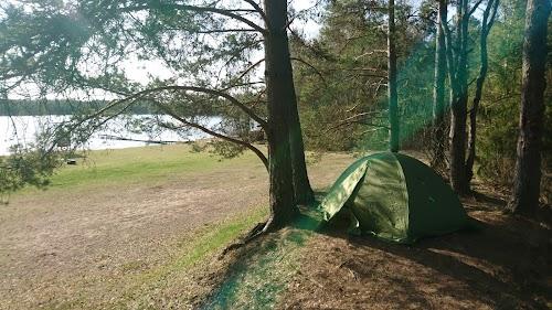 RMK Matsimäe Pühajärve telkimisala, палатки
