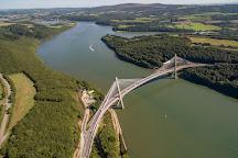 Pont Terenez, Landevennec, France