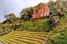 Ruiny Kosciola w Trzesaczu, Trzesacz, Poland