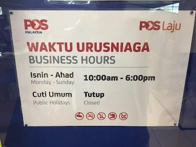 Pejabat Pos Tesco Pulau Pinang Penang 60 4 659 5603