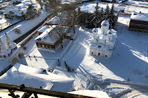 Venerable bell tower, Suzdal, Russia