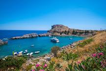 Agios Pavlos Beach, Lindos, Greece