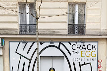 Crack The Egg, Paris, France