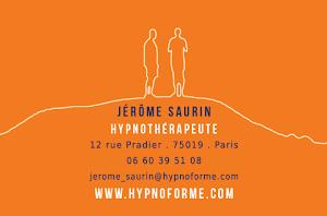 Jérôme Saurin - Hypnose Ericksonienne, PNL, EFT, Coaching à Paris et à l'international via Skype