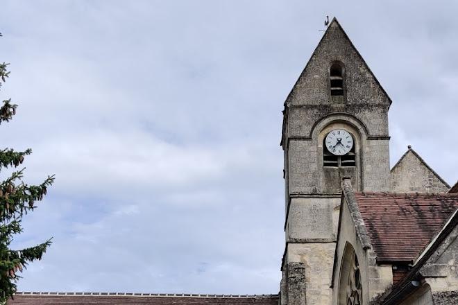 Eglise Saint-Sulpice Pierrefonds, Pierrefonds, France