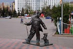 """Скульптурная композиция """"Трио"""" на фото Тюмени"""