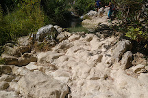 Polylimnio Waterfall, Messenia Region, Greece