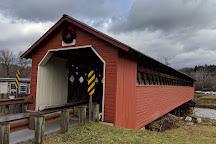 Papermill Village Bridge, North Bennington, United States