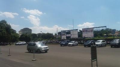 UPI Parking Lot