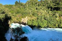 Huka Falls tracks, Taupo, New Zealand