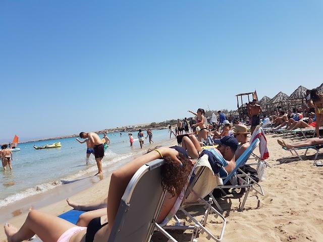 Mikri Santa Maria Beach
