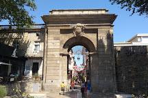 Portail des Jacobins, Carcassonne Center, France