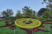 The Flower Clock, Geneva, Switzerland