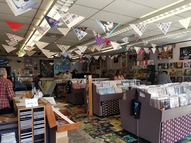 Blue Arrow Records and Books
