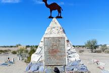Hi Jolly's Tomb, Quartzsite, United States