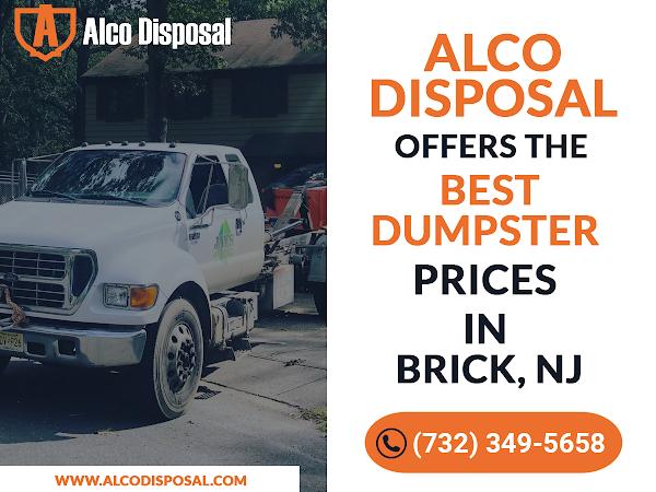 Dumpster Rental Brick NJ - Alco Disposal