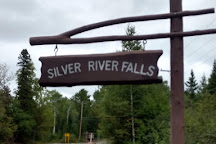 Silver River Falls, Eagle Harbor, United States