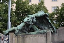 Monument Palacky, Prague, Czech Republic