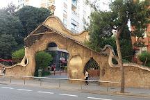 Porta de la Finca Miralles, Barcelona, Spain