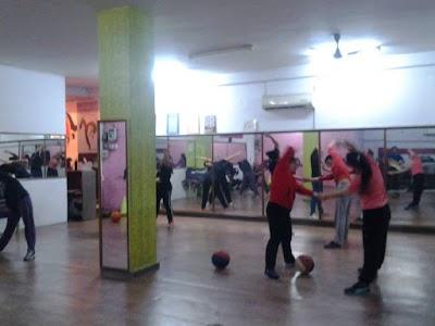 Turnsteps Aerobics, Yoga , Fitness,Workout & Diet Studio