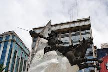 Don Quijote Monument, Buenos Aires, Argentina