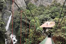Cascada EL Pailon, Banos, Ecuador