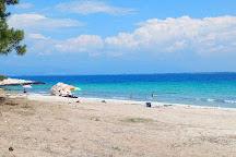 Glykadi Beach, Thassos Town (Limenas), Greece