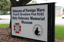 Katy War Veterans memorial museum, Katy, United States