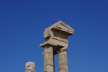 The Temple of Apollo, Tholos, Greece