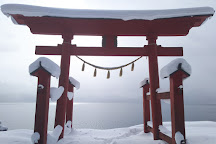 Gozanoishi Shrine, Semboku, Japan