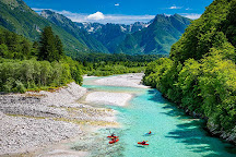 Kayak Soča, Bovec, Slovenia