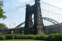 Suspension Bridge, Wheeling, United States