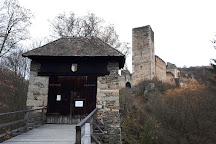 Burgruine Kaja, Merkersdorf, Austria