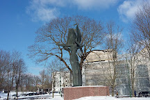 Sculpture Neringa, Nida, Lithuania