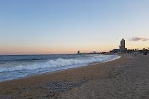 Bogatell Beach, Barcelona, Spain